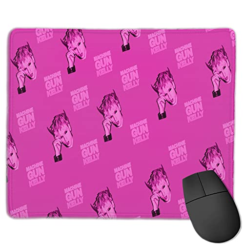 M-achine G-un K-Elly Mouse pad,Gaming Small Mouse pad, Suitable for Computers, laptops, Home Non-Slip Mouse Pads 11.8×9.8 in