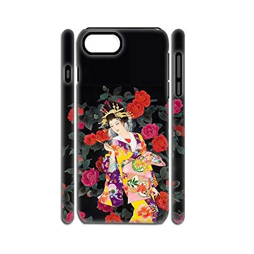 Babu Building Tener con Asian Japanese Estuche De Plástico Rígido Duro Y TPU Suave Hombre Bonito En iPhone 6 4.7 Inch