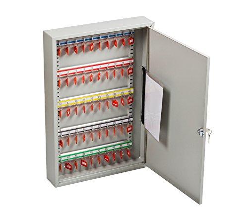 OfficeForce® Schlüsselkasten Office bis 50 Schlüssel, abschließbar (20085)