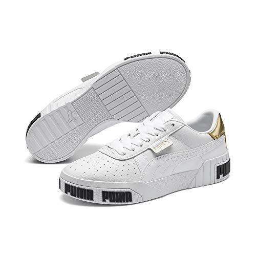 Sneakers Donna PUMA Cali Bold Metallic 371207.01 (36 - White Gold)