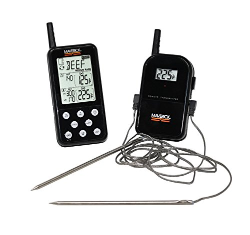 Remote Meat Thermometer, BBQ & Grill-Digital Instant Read Long-Range Thermometer