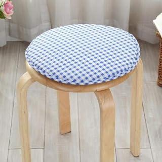 Cojín redondo para silla, cojín de espuma súper suave para asiento, decoración de oficina en el hogar, cojín, taburete de comedor, antideslizante, lansegezi, diámetro de aproximadamente 30 cm