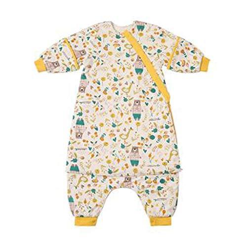 LZL Saco de dormir para bebé Swaddle Can Be Bile Invierno Otoño 4 Estaciones, uso de sección gruesa antipatadas artefacto