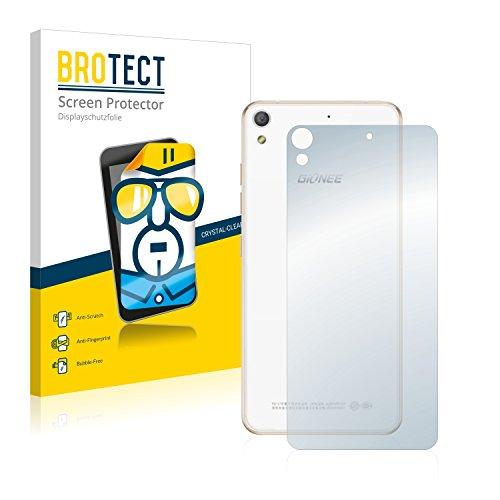 BROTECT Schutzfolie kompatibel mit Gionee Elife S5.1 Pro (Rückseite) (2 Stück) klare Bildschirmschutz-Folie