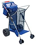 Rio Beach Wonder Wheeler Deluxe Beach Utility Foldable Cart
