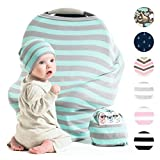 Cool Beans Stretchy Baby Car Seat Canopy and Breastfeeding Nursing Cover - Multiuse - Covers...