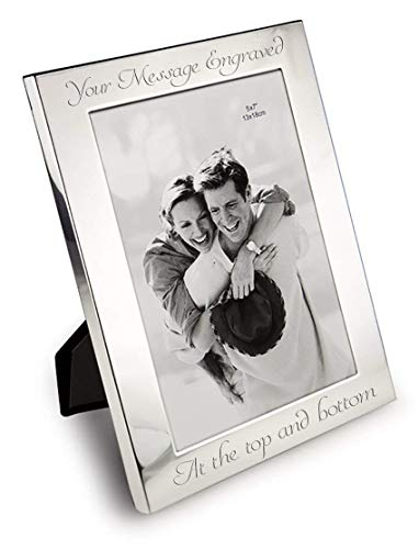 Personalised 7' X 5' Silver Photo Frame...