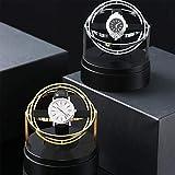 LXT-KL [2020 recién actualizado] correa de reloj de velocidad ajustable, enrollador de reloj de gama alta doble con un sentido de la tecnología, enrolladores de un solo reloj para relojes automáticos