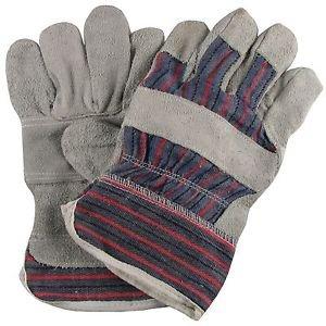 Langley - Confezione da 10 paia di guanti da lavoro, in stile canadese