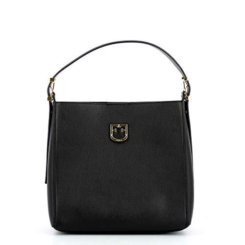FURLA Hobo Bag Belvedere S ONYX