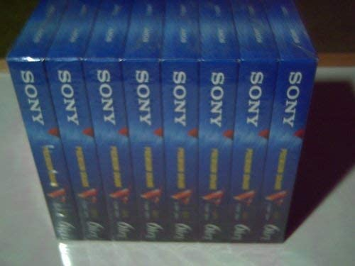 Sony Free shipping Shipping included T-120VE VHS Pack 8-