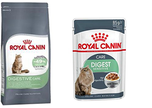 ROYAL CANIN- 1 x Digestive Care Adult 400 g + 4 x Digest Sensitive Katzenfutter