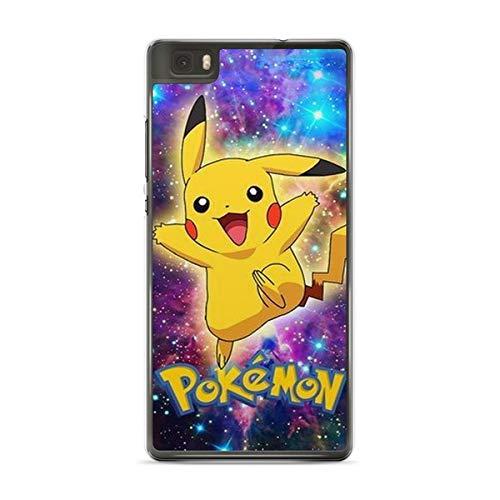 Coque pour Huawei P9 Lite Pokemon go Team Pokedex Pikachu Manga Tortank Game Boy Color Salameche Noctali Valor Mystic Instinct Case + Stylet + Lingette de Nettoyage Ecran 23