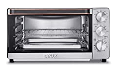 """CONVECTION TOASTER OVEN: This toaster oven is great for baking, broiling, toasting & warming. With a 17-liter capacity, it can fit up to 6 slices of bread, casseroles, or a 12"""" personal pizza inside. PREMIUM FEATURES: Features a grill rack with 3 pos..."""
