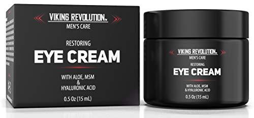 41LVPiZfGvL - Natural Eye Cream for Men - Mens Eye Cream for Anti Aging, Dark Circle Under Eye Treatment.- Men's Eye Moisturizer Wrinkle Cream - Helps Reduce Puffiness, Under Eye Bags and Crowsfeet