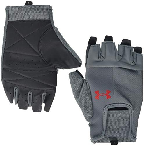 Under Armour Herren Training Handschuhe, Grau, Medium