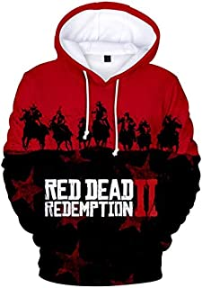 Red Dead Redemption 2 casual hoodies fashion 3D printing PS4 game Hoodies