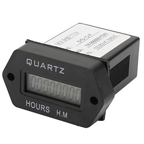 Jeanoko kumulierter Zeitzähler Quarz SYS-1D-R 100V-250VAC für Baumaschinen