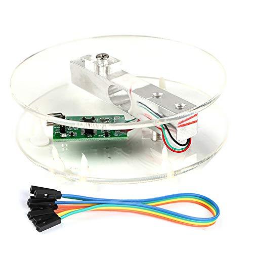 Innovateking-EU Sensor de Peso de celda de Carga Digital HX711 AD Converter Breakout Module Báscula de Cocina electrónica portátil 5KG para Escala de Arduino