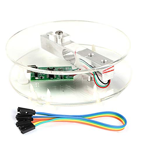 Innovateking-EU Digitaler Wägezelle Load Cell Gewichts Sensor HX711 AD Wandler Breakout Modul Tragbare elektronische Küchen Waage 5KG für A rduino Skala