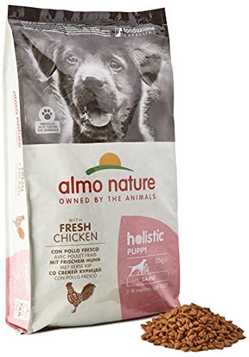Almo Nature - Holistic Puppy Large - Nourriture pour chiot - Poulet - 1 x 12kg