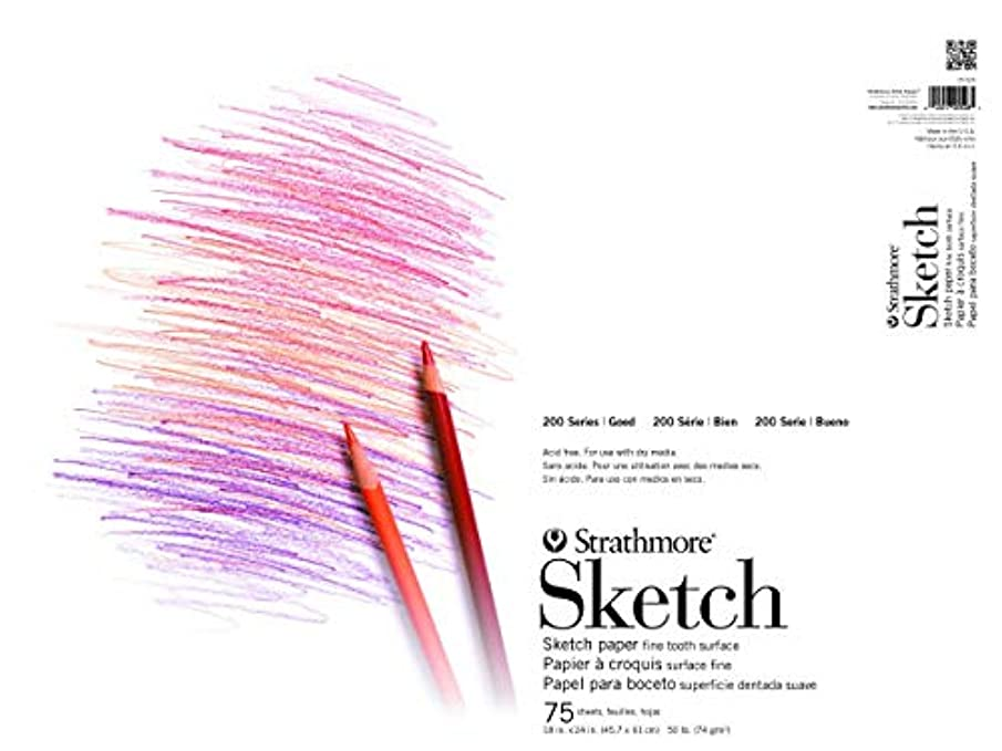 Strathmore ((25-521 STR-025-521 100 Sheet Sketch Pad, 11 by 14