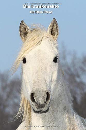 Die Krankenakte für Dein Pferd: Curly Horse - Dokumentiere mit einer sinnvollen Vorlage schnell und einfach die Krankheiten / Verletzungen Deines Pferdes