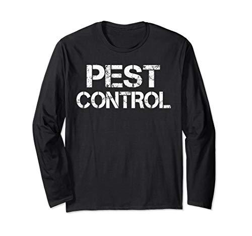 Pest Control Exterminator Halloween Costume Long Sleeve T-Shirt