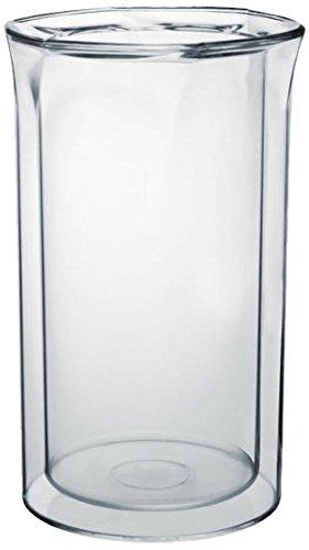 Cosmoplast 65162 Porta Bottiglie Termico Freezing Utensili da Cucina, Plastica, Trasparente