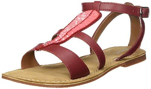 Marc Shoes Damen Chiara Sandalen, Rot, 42 EU