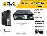 Dell optiplex 990 INTEL CORE I7 @3.40GHZ 8GB RAM 128GB SSD WINDOWS 10 PRO (Ricondizionato)