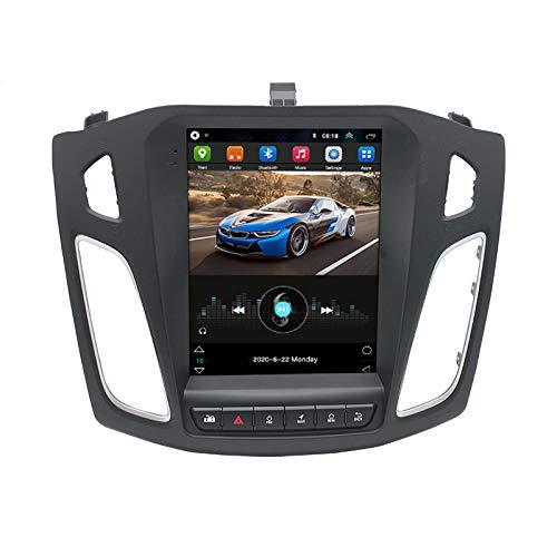 Sistema De Navegación GPS Android Navegación Doble DIN - Para Ford Focus 2012-2017 Pantalla De 9.1 Pulgadas Radio Estéreo WiFi Para Automóvil Con Reproductor Bluetooth USB Control Del Vo(Color:1G+16G)
