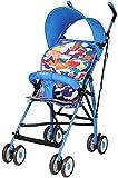 LYP Triciclo Bebé Trolley Trike Cochecitos, cochecitos, amortiguadores de Cochecito Plegable Ligero, Viajes extraíbles del Asiento del bebé (Color : #1)