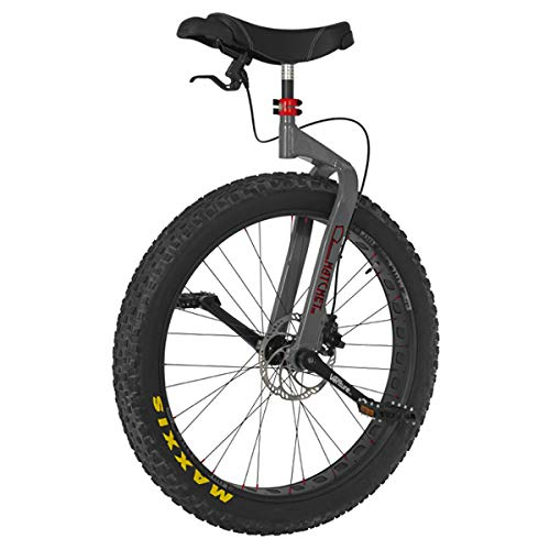 Read About Nimbus Hatchet 27.5 Mountain Unicycle - (Grey Frame)