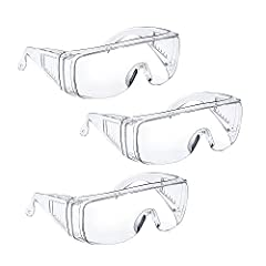 【HIGH-LEVEL IMPACT RESISTANCE,PROTECT YOUR EYES FROM INJURY】 Our safety glasses for work are made of military-grade PC explosion-proof materials, With high impact resistance and durability ratings. Tavool safety goggles are some of the toughest piece...