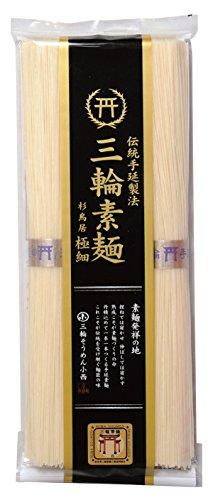 三輪素麺 最高級素麺 杉鳥居 極細 TAG-200 200g×4袋 合計16束 素麺