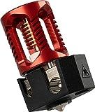 Dragon Hotend para impresora 3D Voron, Impresoras 3D Extrusoras High Flow Compatible con todas las interfaces V6 Hot end, Prusa I3 MK3 / MK3S, Extrusoras BMG