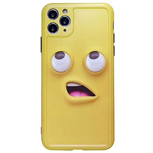 Tmrtcgy Hot 3D Funny Smiley Payown Soft Silicon Teléfono Funda para iPhone 11 12 Pro 7 Plus 8 8PLUS X XS XR MAX Cubierta Funda Coque (Color : C, Size : Iphone7 8)