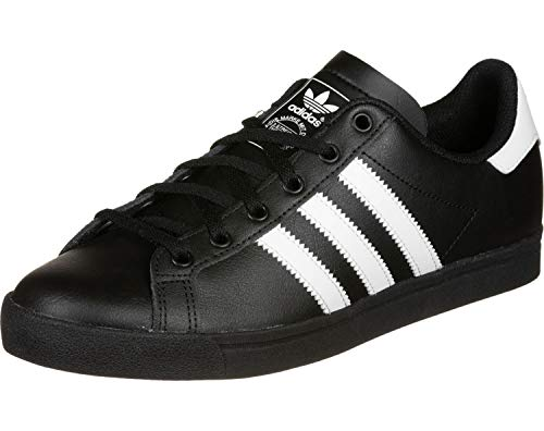 adidas Coast Star, Zapatillas Unisex Adulto, Negro (Core Black/Footwear White/Core Black 0), 36 EU