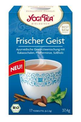 Yogi Tee Frischer Geist, 17 Teebeutel, 37,4 g, BIO
