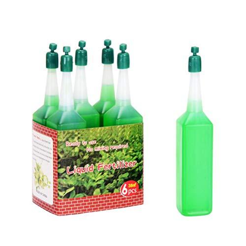 6PCS Hydroponic Liquid Fertilizer for Indoor Plants,Best Liquid Organic Fertilizer Hydroponics,Plant Nutrient Solution,Suitable for Hydroponic Soil Cultivation of Plants