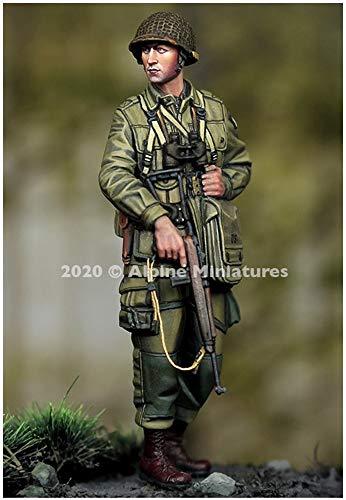 アルパインミニチュア 1/35 第二次世界大戦 アメリカ軍 第101空挺師団 士官 レジンキット AM35275