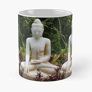 Kauai Hawaii Sculptures Buddha Funny Christmas Day Mug Gifts Ideas For Mom - Great Ceramic Coffee Tea Cup