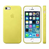 Eprodeallsaperecommen Official PremiumDesign Flexible Silicone Rubber Back Cover Case for Apple iPhone 5