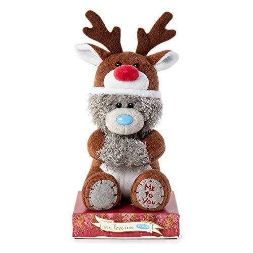 Me To You XP701020 Reindeer Tatty Teddy