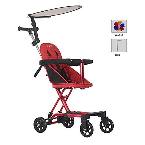 Passeggino Alto Paesaggio Ultra-Light Baby Passeggino Pieghevole Bambini Pieghevoli 1-6 Anni Passeggino Baby Travel Passeggino Hot Mom (Color : Baby Stroller 5)