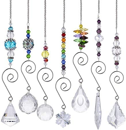 Tree /& Room-beautiful window decoration with glass grinding stone Bead decoration chain for windows