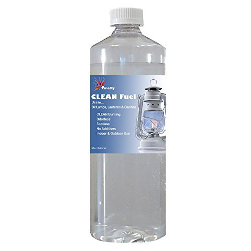 Firefly Kosher Clean Fuel Lamp Oil – Smokeless/Virtually Odorless – Longer Burning – 32 Ounces