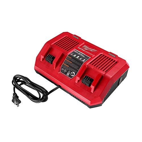 Milwaukee 48-59-1802 M18 Dual Bay Simultaneous Rapid Lithium-Ion Charger