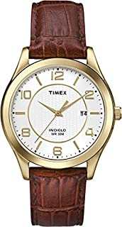 ساعة Timex Main Street Quartz Movement بيضاء للرجال T2P449
